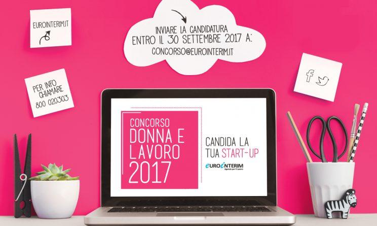 concorso nazionale Eurointerim Donna e Lavoro Startup