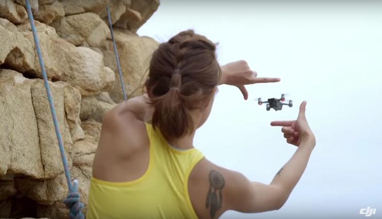 selfi perfetti drone spark