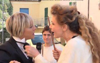 """Le iene, Eleonora Brigliadori aggredisce Nadia Toffa: """"Sei schiava dei demoni"""""""