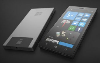 Microsoft Surface Phone news: nuovo concept con fotocamera 3D-scanning [FOTO]