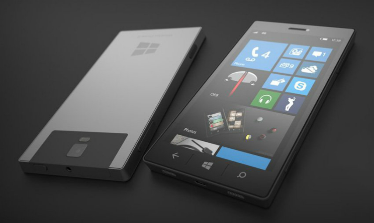 Microsoft Surface Phone news, nuovo concept con fotocamera 3D scanning