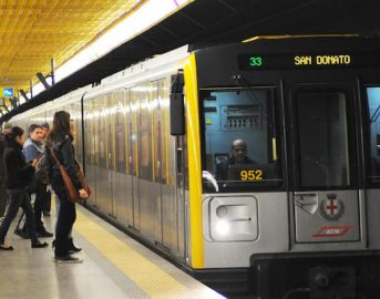 Milano Metro Linea M3 disagi oggi: colpa di un cane in galleria