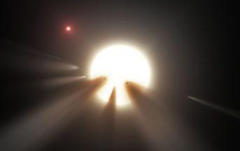 KIC 8462852, la stella Tabby torna a diminuire di luminosità: il mistero continua