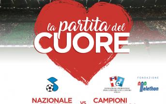 Partita del Cuore 2017: martedì 30 maggio 2017 la Nazionale Cantanti allo Juventus Stadium per la grande festa