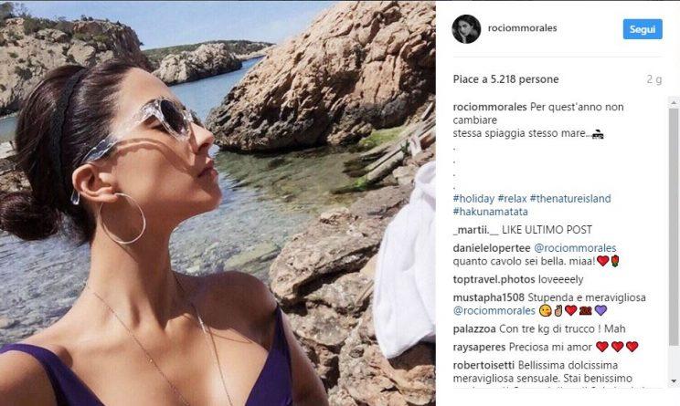 Raoul Bova e Rocio Munoz Morales, vacanza bollente a Ibiza