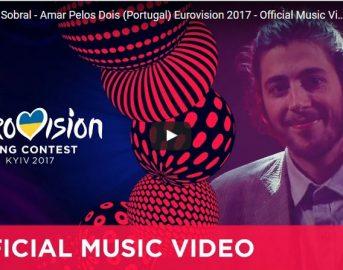 Salvador Sobral Amarar Pelois Dois Testo: il brano vincitore di Eurovision Song Contest 2017 (VIDEO)
