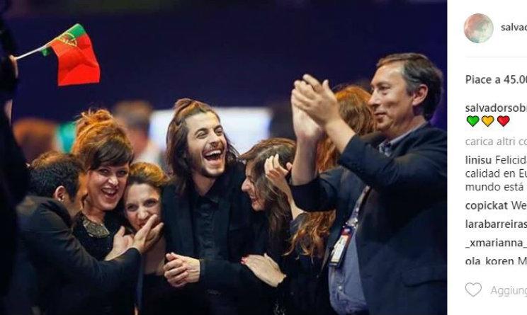 Il portoghese Sobral conquista l'Eurosong