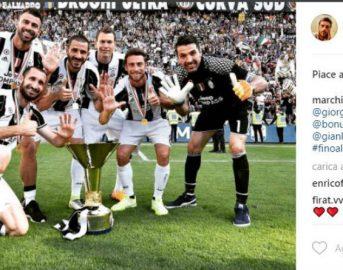Scudetto Juventus, dalle lacrime di Claudio Marchisio alla rabbia di baby Bonucci