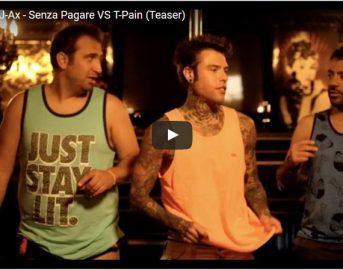 Senza Pagare Fedez vs T-Pain Video: il testo della canzone in attesa del video-clip con Pio e Amedeo