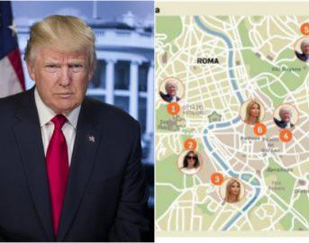 Trump a Roma, città blindata e sicurezza alle stelle: il programma della visita del Tycoon