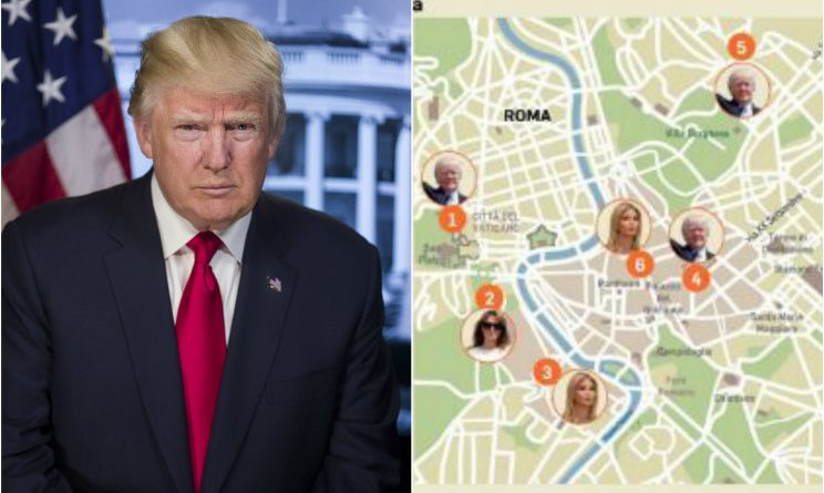 Waiting for Trump: The Donald in arrivo a Roma, capitale blindata