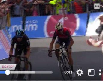 Giro d'Italia 2017 Vincenzo Nibali: lo Squalo torna a graffiare, classifica e risultati dopo la tappa di oggi (VIDEO)