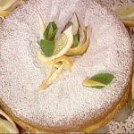 La prova del cuoco ricette dolci oggi, la prova del cuoco ricette dolci, la prova del cuoco ricette oggi, la prova del cuoco 2 maggio 2017, torta al limone anna moroni, torta al limone la prova del cuoco,
