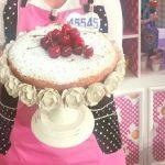 La prova del cuoco ricette dolci oggi, la prova del cuoco ricette dolci, la prova del cuoco ricette oggi, la prova del cuoco 22 maggio 2017, torta di ciliegie in padella natalia cattelani, torta di ciliegie in padella la prova del cuoco,