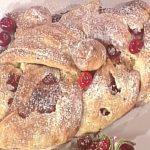 treccia di ciliegie sergio barzetti, treccia di ciliegie la prova del cuoco, la prova del cuoco ricette dolci oggi, la prova del cuoco ricette dolci, la prova del cuoco ricette oggi, la prova del cuoco 17 maggio 2017,