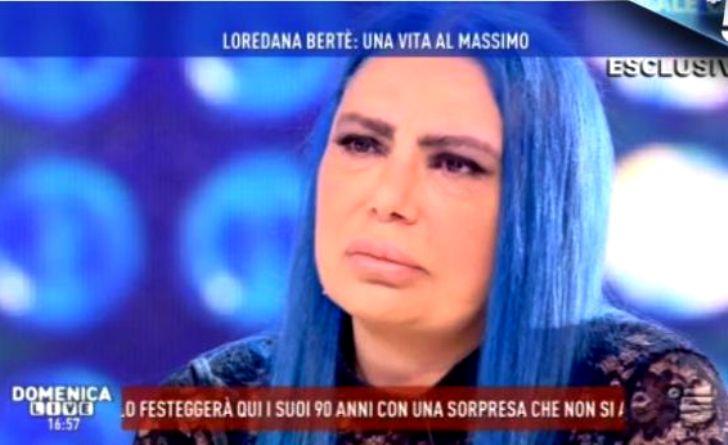 loredana bertè violentata
