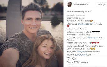Sasha Pieterse e Hudson Sheaffer: data e luogo del matrimonio dell'attrice di Pretty Little Liars