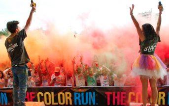 The Color Run Bologna, la magia dei colori conquista il Parco di Villa Angeletti