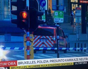 """Bruxelles, stazione centrale: """"Uomo con cintura esplosiva neutralizzato"""""""