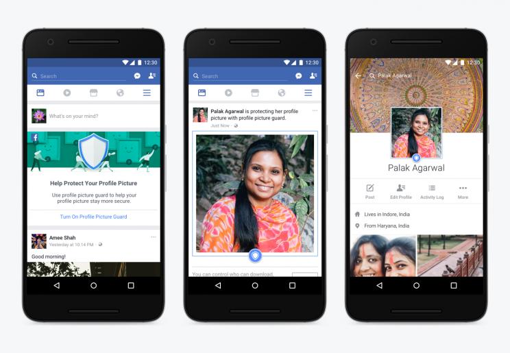 facebook app foto profilo