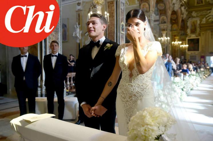 Matrimonio Belotti : Andrea belotti matrimonio con giorgia duro viaggio di