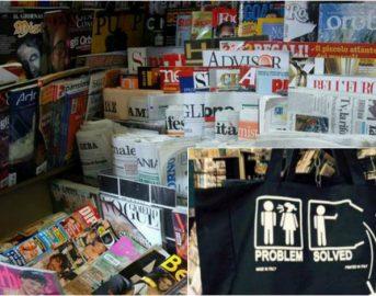 Firenze, edicola vende souvenir che inneggiano al femmincidio: è polemica
