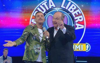 Caduta Libera Campionissimi ospiti, puntata speciale con Francesco Gabbani e Arisa (FOTO)