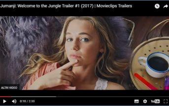 Jumanji Welcome To The Jungle Trailer: arriva il primo video-clip del sequel
