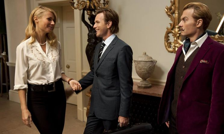 Mortdecai facebook