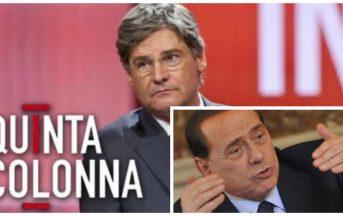 Silvio Berlusconi interviene a Quinta Colonna: il Cavaliere in TV per salvare uno sfrattato