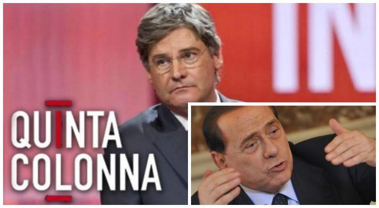 Berlusconi chiama in diretta TV per aiutare uno sfrattato con figlia disabile