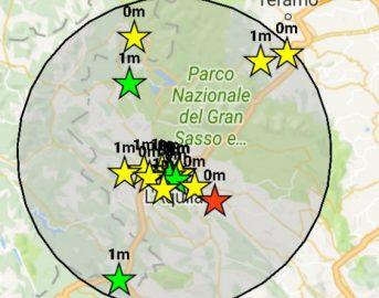 Terremoto in Abruzzo oggi: forte scossa avvertita dalla popolazione