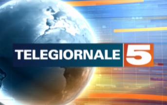 """TG5 edizione ore 13 oggi, problemi tecnici in diretta: """"Scusateci"""" (FOTO)"""