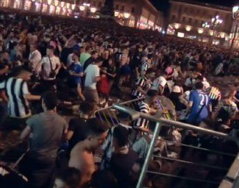 """Torino incidenti Piazza San Carlo, Erika è morta, parla il compagno: """"Stanchi dei mi spiace, era il giorno del mio compleanno"""""""