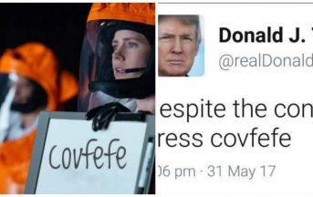 Trump Covfefe, la gaffe su Twitter diventa virale e c'è chi registra subito il dominio (FOTO)