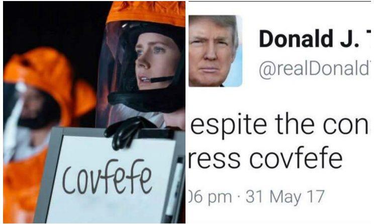 Giallo su un misterioso tweet di Trump