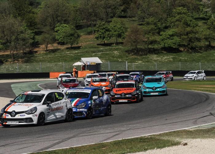 Peroni Racing weekend Monza Clio Cup Italia