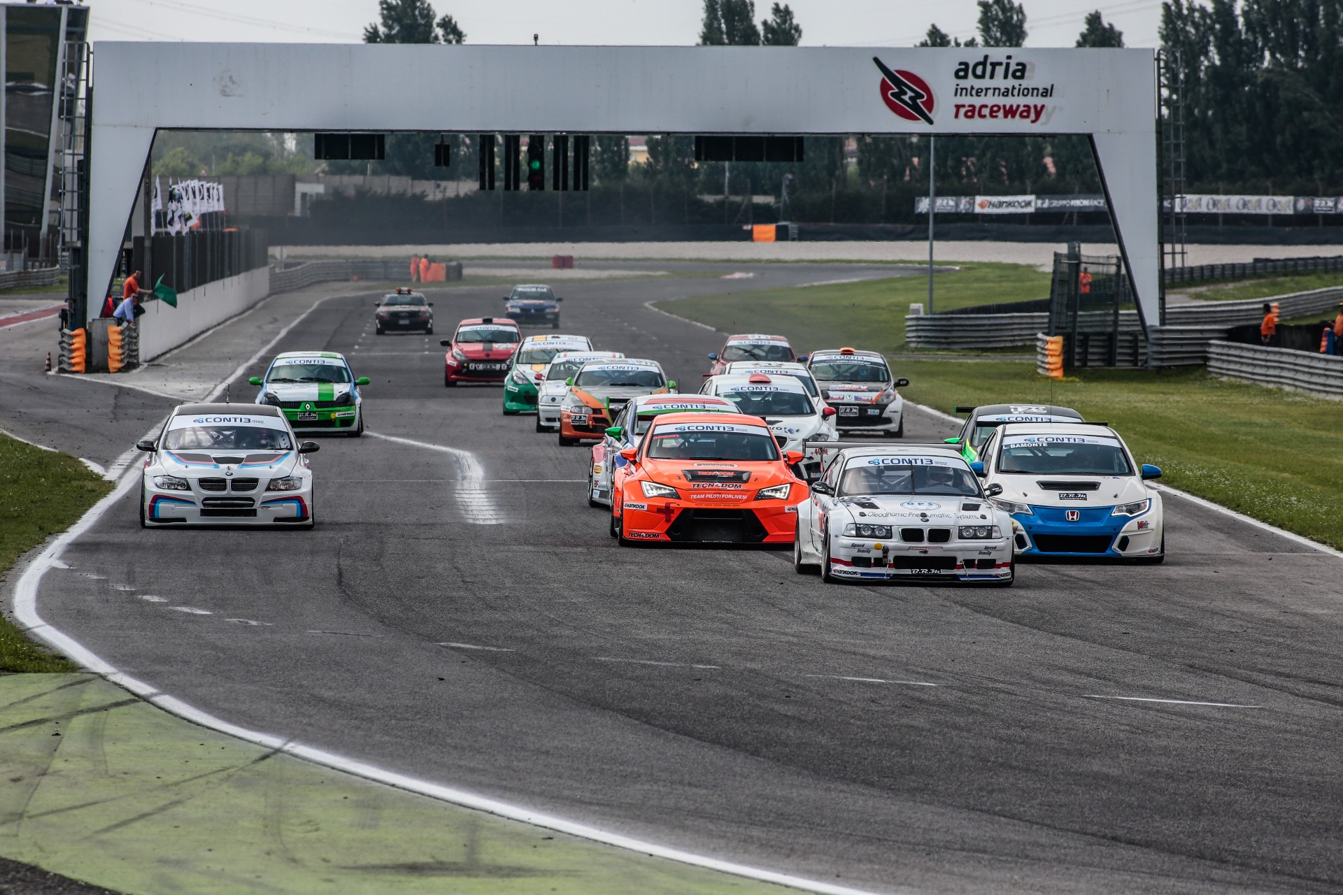 Peroni Racing weekend Monza Coppa Italia Turismo