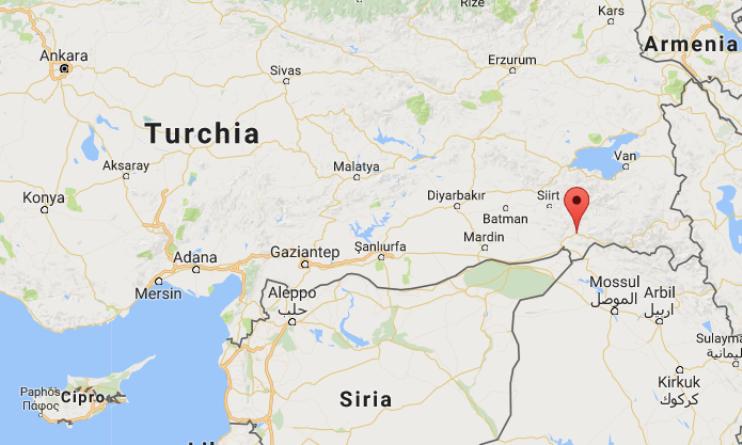 Elicottero turco cade vicino alla città di Uludere: morti 13 militari