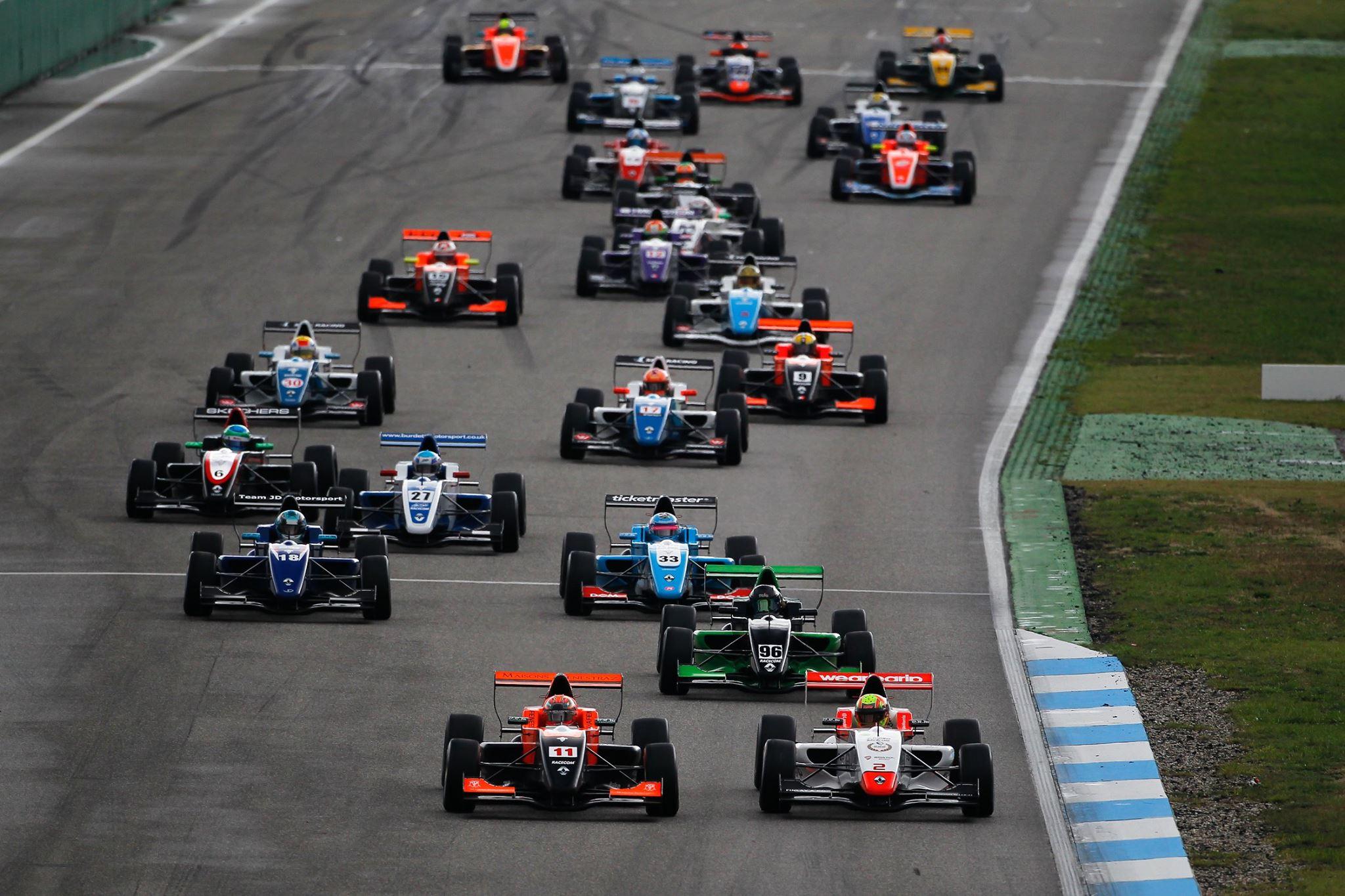 Peroni Racing weekend Monza Formula Renault NEC