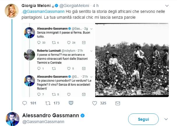 Valanga di insulti per aver difeso lo Ius Soli — Gassmann lascia Twitter