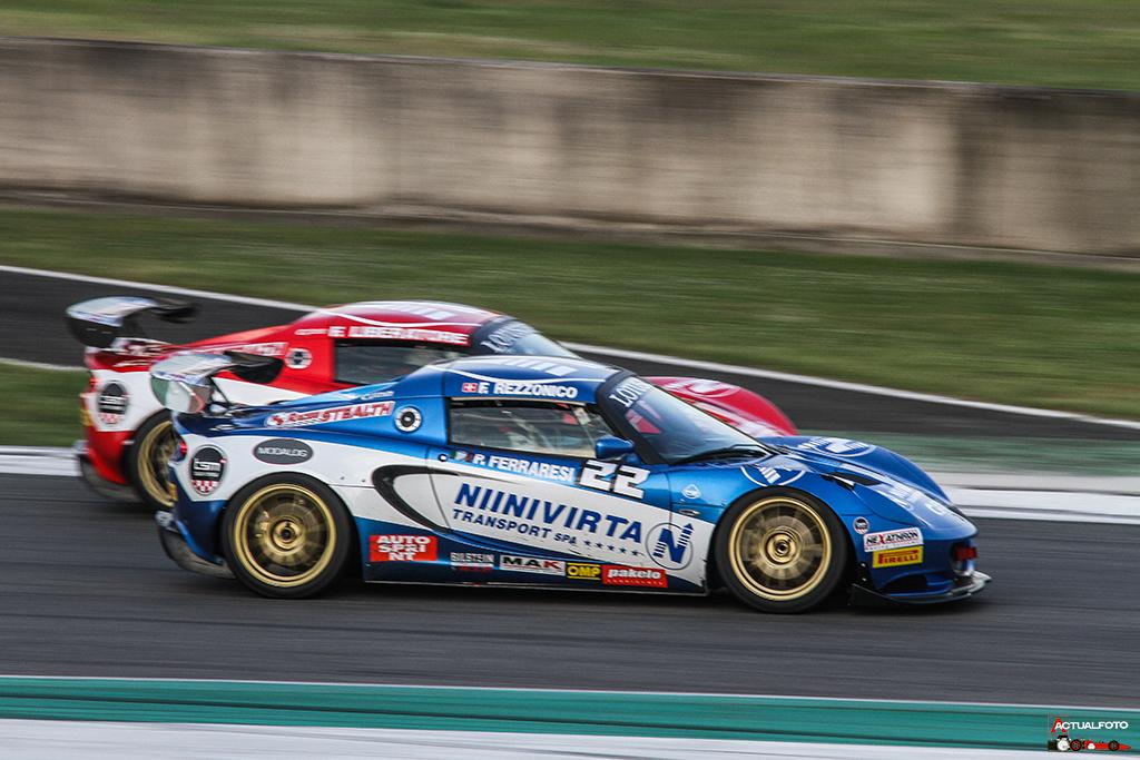 Peroni Racing weekend Monza Lotus Cup Italia