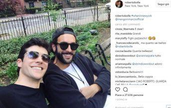 Marco Mengoni e Roberto Bolle vacanza insieme a New York, i social impazzano ma i due sono solo amici