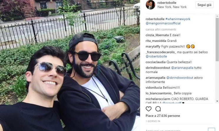 Marco Mengoni e Roberto Bolle: insieme a New York!