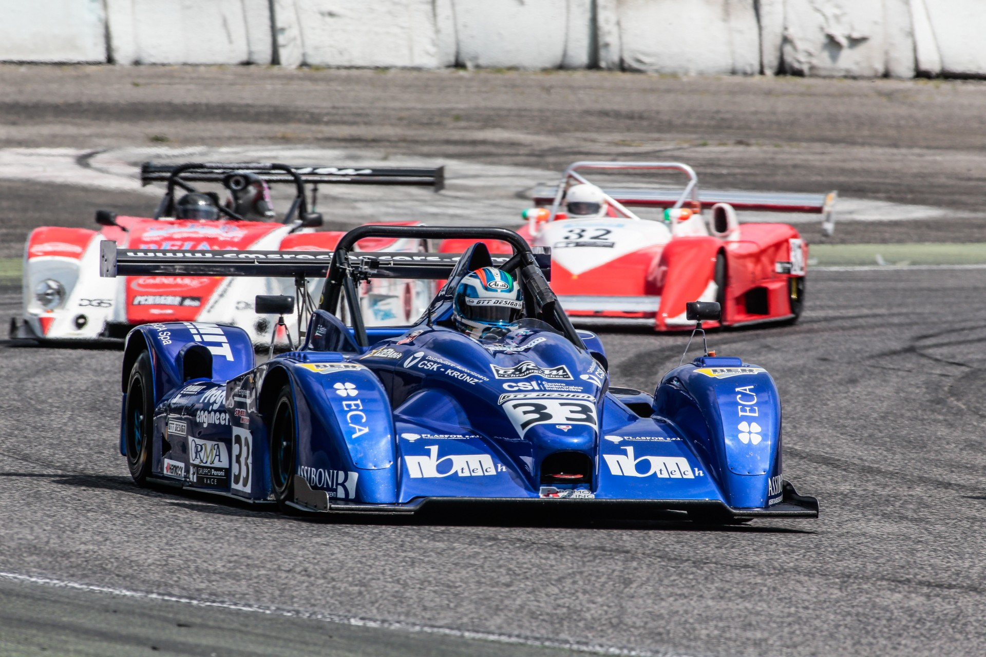 Peroni Racing weekend Monza Master Tricolore Prototipi