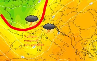 Meteo prossimi giorni: il 5 giugno arriva la prima tempesta estiva?