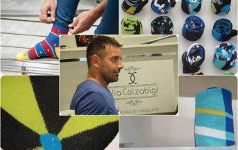 Via Calzabigi: la rinascita della calza di classe made in Italy featuring Francesco Coco