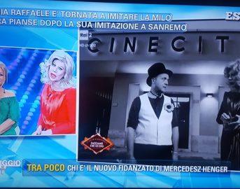 """Virginia Raffaele, dopo Belén Rodriguez l'attacco di Sandra Milo: """"Non fa ridere!"""""""
