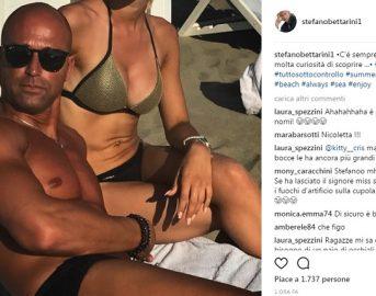 Stefano Bettarini fidanzata: continua il toto nomi su Instagram, ecco un'altra ipotesi [FOTO]