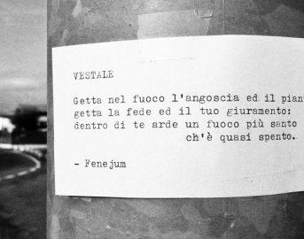 Fenejum: il Banksy italiano che porta la poesia nelle nostre città